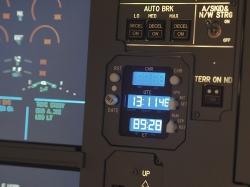 A320 CLOCK